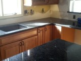 new granit and sink