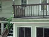 pre demo roof deck railing
