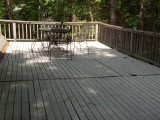 pre demo roof deck